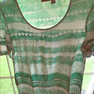 Used Chico women's shirt size 3